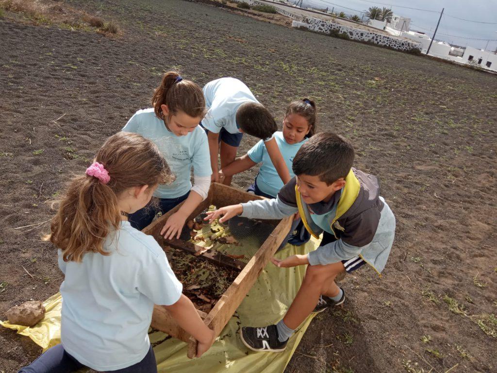 Niños y niñas del CEIP María Auxiliadora