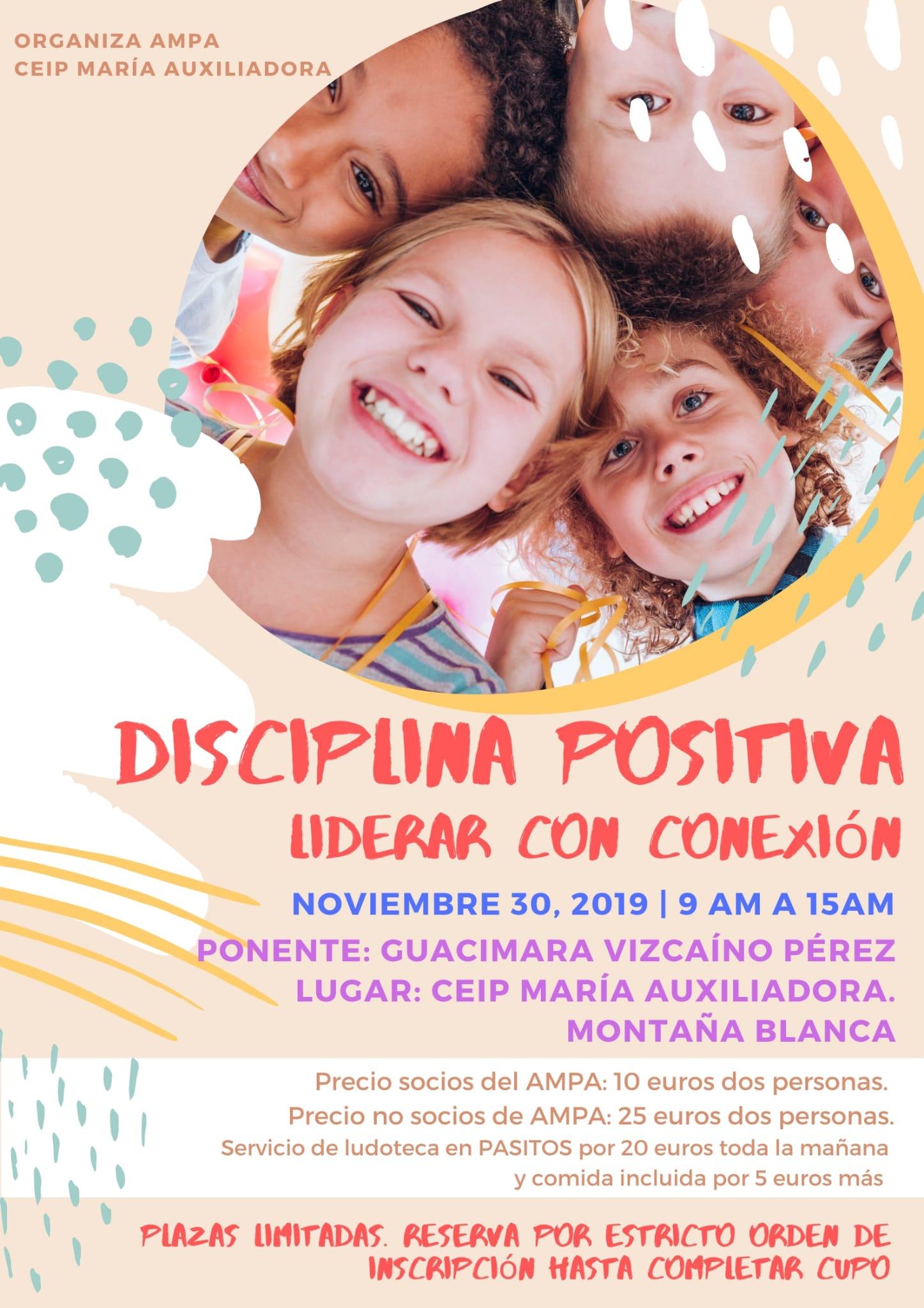 Taller Disciplina Positiva en CEIP María Auxiliadora Lanzarote